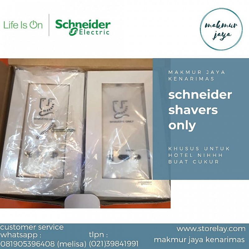 schneider shavers only